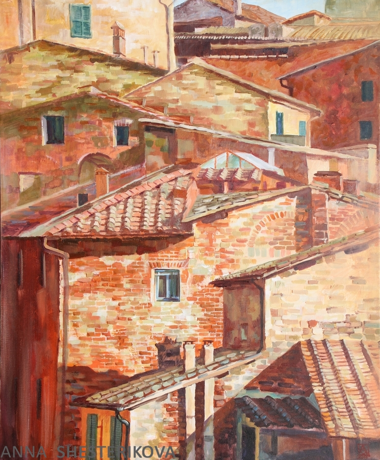Roofs of Siena